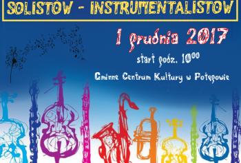 IV powiatowy przegląd solistów - instrumentalistów w potęgowie