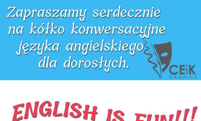 Zapraszamy na angielski dla dorosłych!