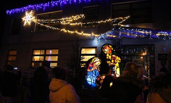 dekoracje bożonarodzeniowe w Damnicy