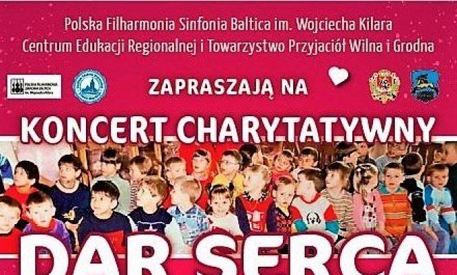 Zapraszamy na koncert charytatywny Dar Serca