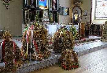 Uroczysta msza święta dożynkowa