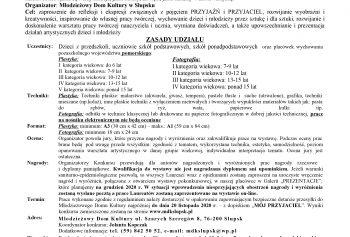 Wojewódzki Konkurs Plastyczno-Fotograficzny